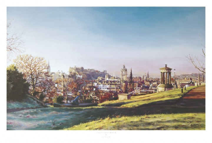 View West from Calton Hill